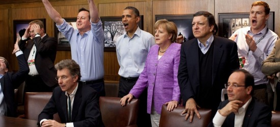 Penalty Shootout at the G8